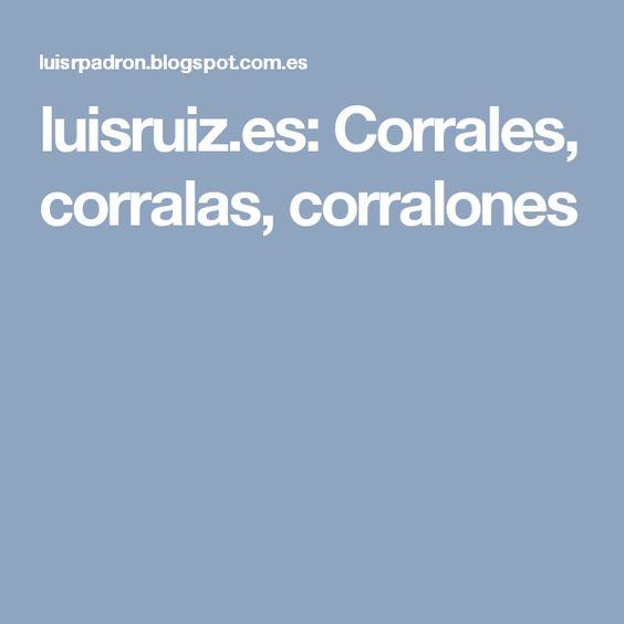 luisruiz.es: Corrales, corralas, corralones