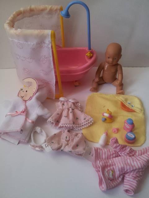 My Mini Baby Born 12cm (patroon) 1 t/m 3 | My Mini Baby Born 12cm ...