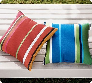 Outdoor Pillow Vinyl Tablecloth And Shower Curtains On
