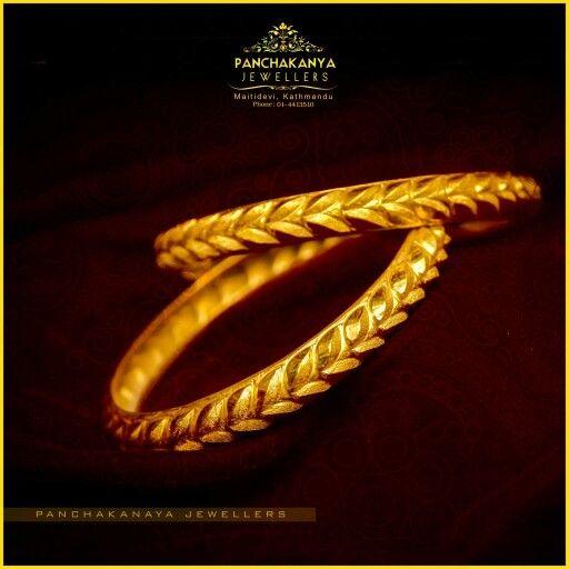 Nepali Traditional Bangles Gold Jewellery Pinterest