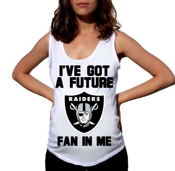 Oakland Raiders Baby Shirt