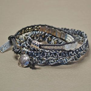 Five Stitch Wrap Bracelet-The Highlands  from the bead shop in CA   LOVE this bracelet !!