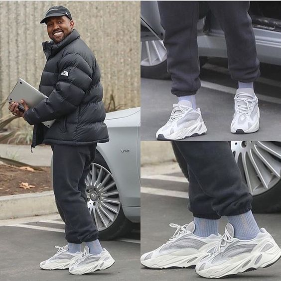 How To Get Adidas Yeezy Boost 700 Static How To Get Adidas Yeezy Boost 700 Static Sneakers Fashion Shoes In 2020 Kanye West Outfits Yeezy Outfit Yeezy Fashion