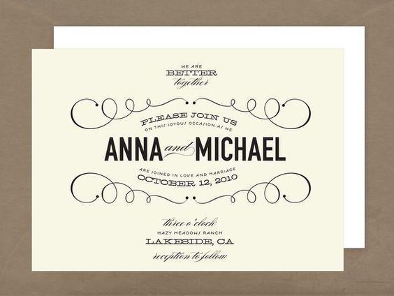 beautious... wedding invitation