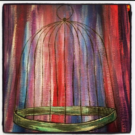 Life in a cage. You choose your freedom and your cell.  Bridgette Shaw