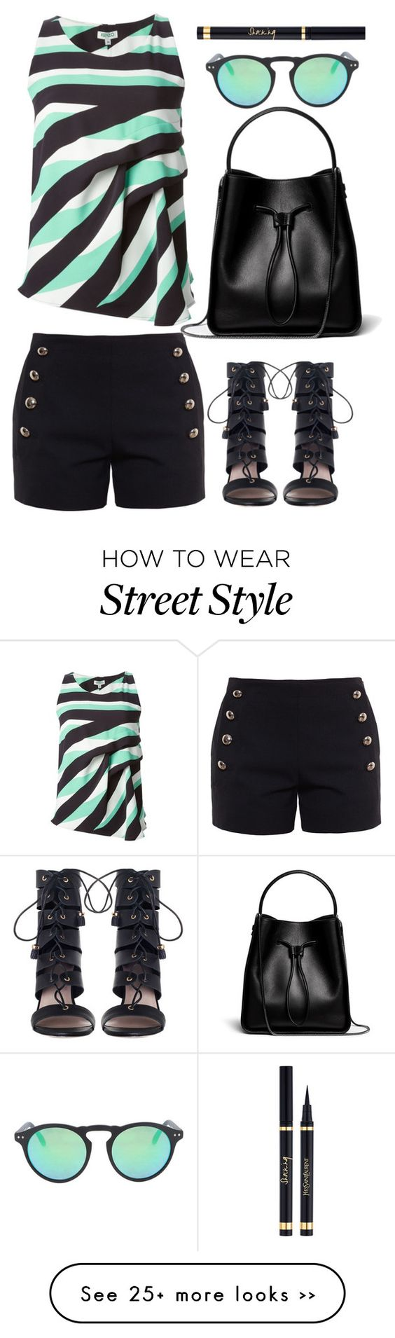 """street style"" by ecem1 on Polyvore featuring Chloé, Kenzo, Zimmermann, 3.1 Phillip Lim and Spektre"