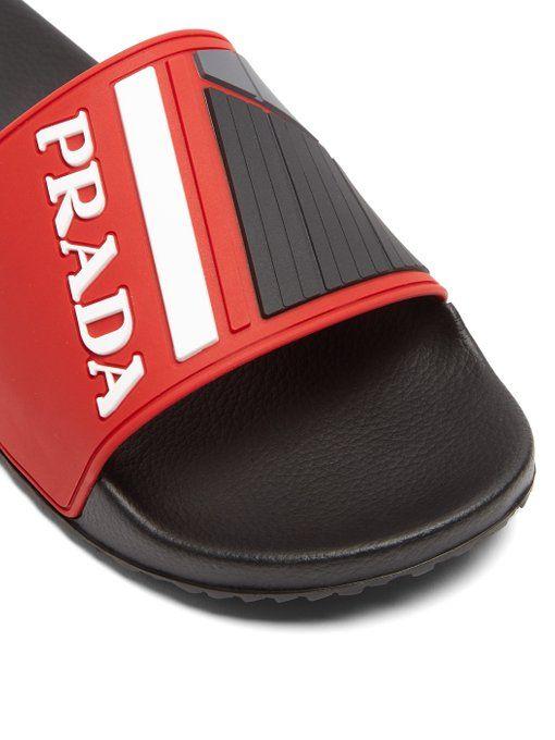 ModeSens | Prada, Mens slippers, Sandals