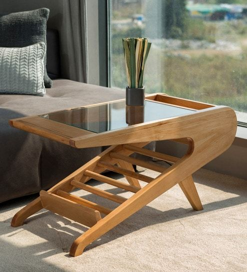 Buy Parish Center Table In Steambeech Finish By F9 Furnichair