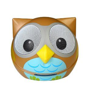 Amazon.com: Zoo-Tunes Portable Mini Character Speakers for MP3 Players, Tablets, Laptops etc. (Owl): Computers & Accessories