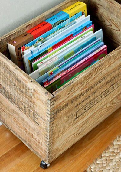 Librerie portatili fai-da-te per bambini 006