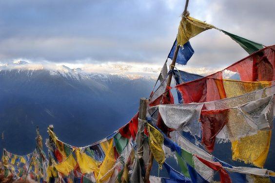 Uncovering sacred spaces around the world - Matador Network--Jurvis Kornets, photographer.  Prayer Flags, Indian Himalayas.