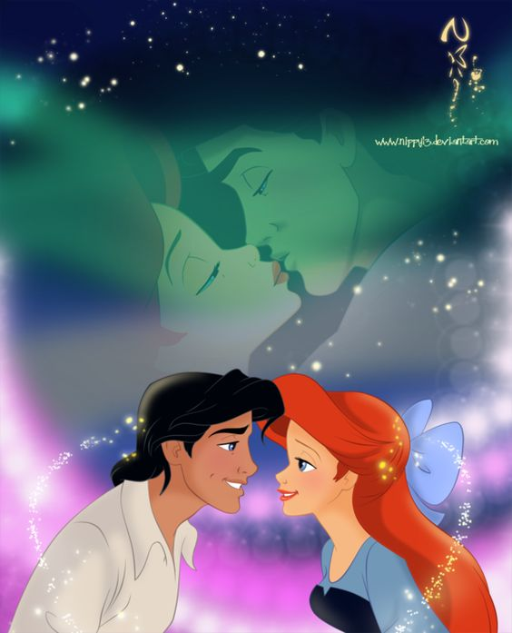 Ariel and Eric-Sweet Love by *nippy13 | The Little Mermaid ...