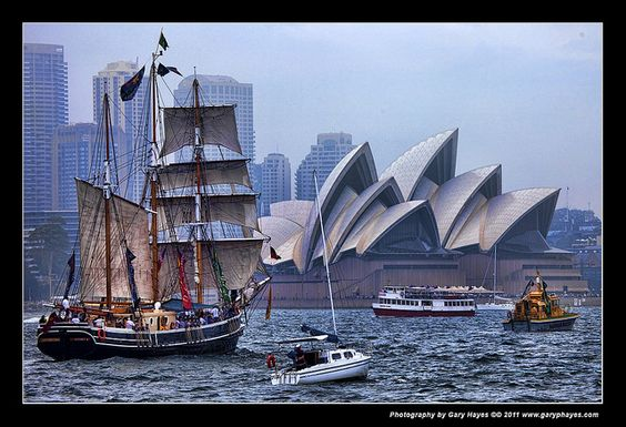 australia day tall ships sydney                    photo gary hayes