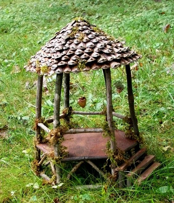 Moon Beam Gazebo Fairy Faerie Gnome Hobbit Wee Folk