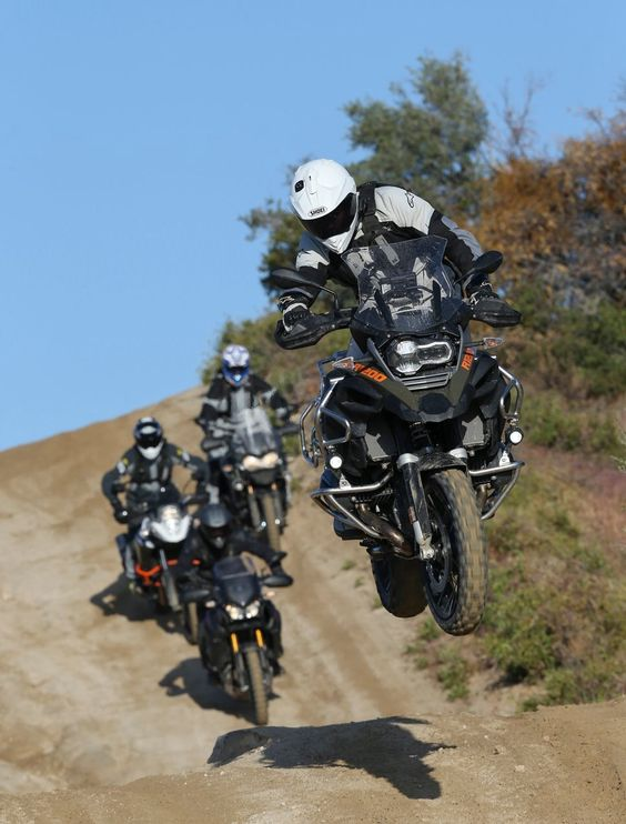 That's a big bike to be launching but too cool. Adventure riders want more? visit - http://themotolovers.com