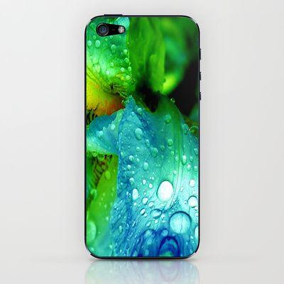 Splash iPhone & iPod Skin by Stephanie Koehl - $15.00