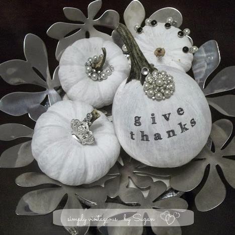 Pearl White Pumpkins!