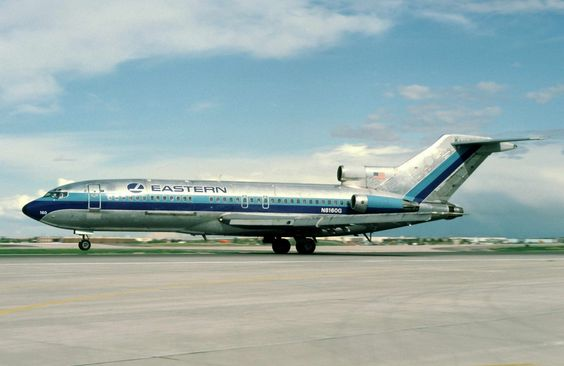 Eastern Airlines Launches The First Boeing 727 In 1964 In