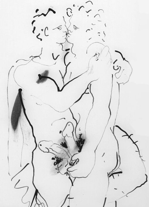 male drawings of cocteau - Google Search