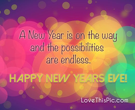 a new year is on the way new years good morning new year new years