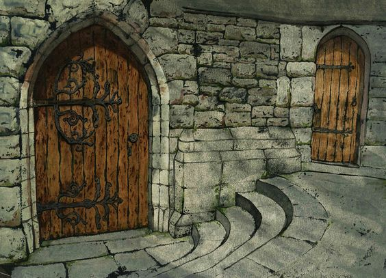 The Castle Door by MandieLaRue.deviantart.com on @deviantART
