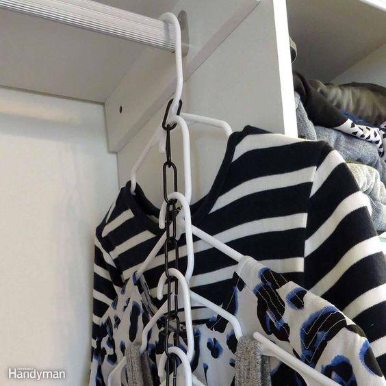 DIY Tiered Hangers