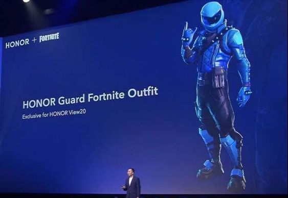 Fortnite X Honor Wonder Skin Outfit Announced Honor Have Revealed A New Exclusive Fortnite Skin For Their New Phone The Wonder Skin Fortnite Honor Guard Skin