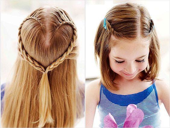 Remarkable Heart Braid Halo And Long Hair On Pinterest Short Hairstyles Gunalazisus