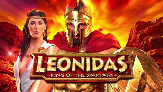 """Dale un """"me gusta"""" y un """"compartir"""" para jugar GRATIS a la tragamonedas de Leonidas el Espartano. #casino"""
