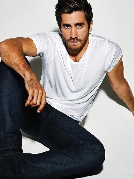 Jake Gyllenhaal. With his captivating blue eyes and prominent brow, he oozes manliness.
