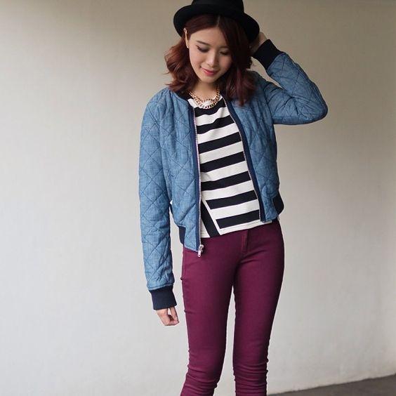 "@Tricia Gosingtian's photo: ""It was so much fun styling this @Gap jacket ♡ #gap #styldby #triciagosingtian"""
