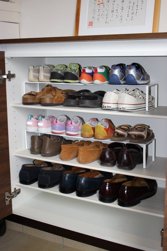 Schuhregal Frame Fur 4 Paar Schuhe Schuhregal Regal Schuhaufbewarung