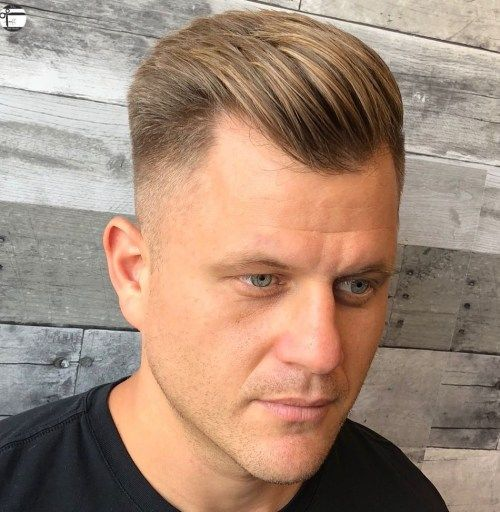 50 Classy Haircuts And Hairstyles For Balding Men Balding Mens Hairstyles Receding Hair Styles Cool Hairstyles For Men