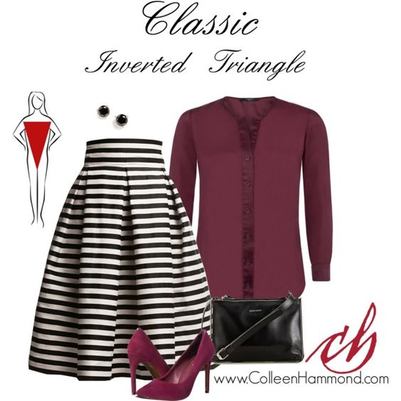 Classic Inverted Triangle by colleen-hammond on Polyvore featuring Vielma London, Rumour London, Ted Baker, Carven and Kate Spade
