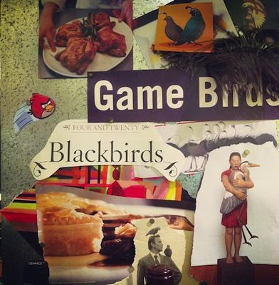 Game birds are dinner too.