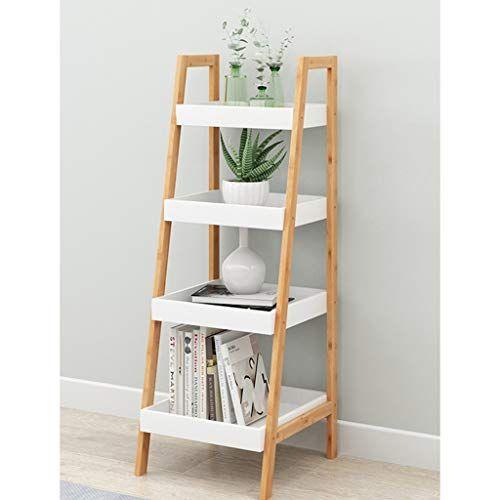 Zhanyi Trapezoidal Rack Industrial Ladder 4 Tier Bookshelf Storage