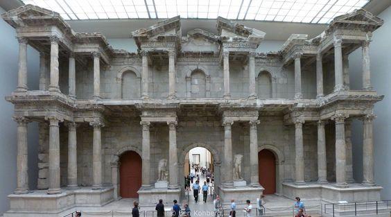 Antikes Martkttor Rom Pergamon Museum Berlin
