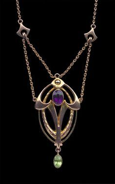art nouveau jewelry antique - Google Search