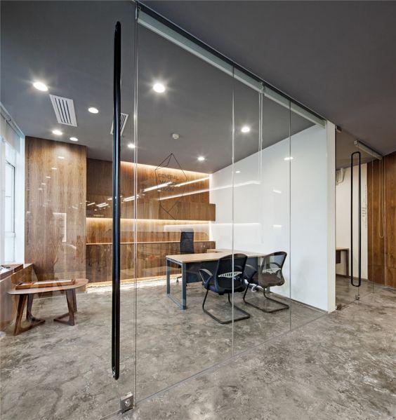 折纸空间——ELLE Office /菲灵设计 - 马蹄网