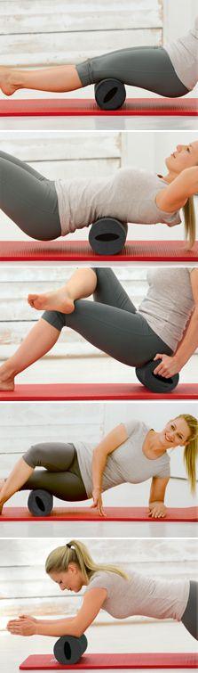 Der Myofascia-Roller zur Förderung der Muskel-Aktivität und Regeneration! Zur gezielten Lockerung und Entspannung beanspruchter Muskulatur sowie des muskelumgebenden Fasziengewebes