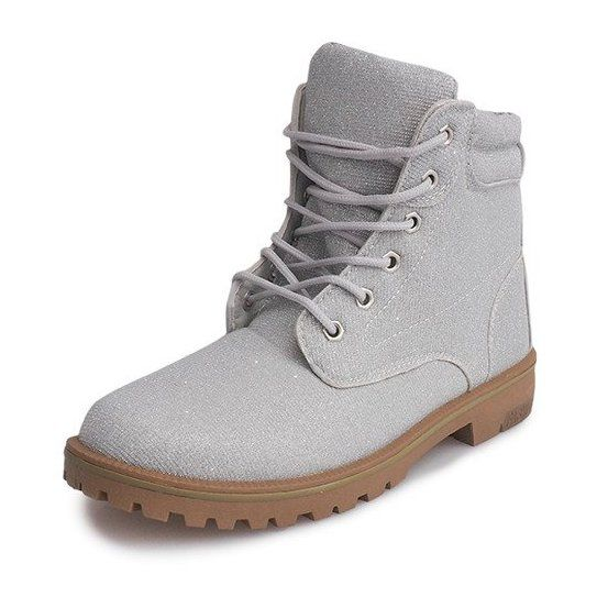 Timberki Trapery Tl042 16 Grey Boots Timber Boots Shoes