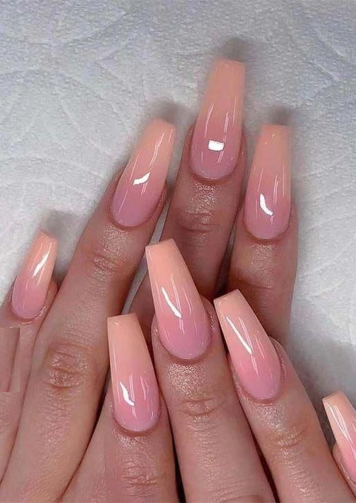 Nail Color Ideas Summer Funkynaildesigns Pink Ombre Nails Ombre Nail Designs Coffin Nails Designs