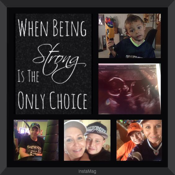 My kids are my world. They give me the strength to fight another day. To remember why I can't and won't give up!