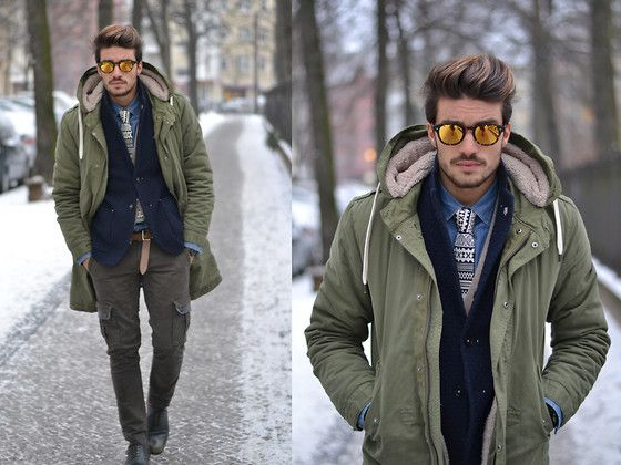 ARMY STREET STYLE (by Mariano Di Vaio) http://lookbook.nu/look