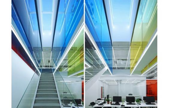 21 Cake's Technicolor Headquarters By People's Architecture