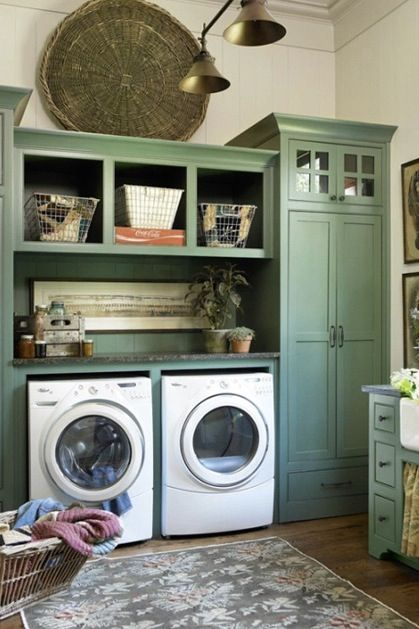 21 Laundry Rooms That Will Make You Want to Do Laundry via @PureWow: