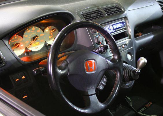 Honda Civic Si Hatchback Interior Automotive Center Pinterest Honda Civic Si Honda And