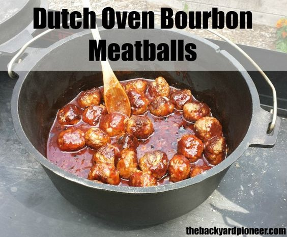 Dutch ovens bourbon and dutch on pinterest for Dutch oven camping recipes for two