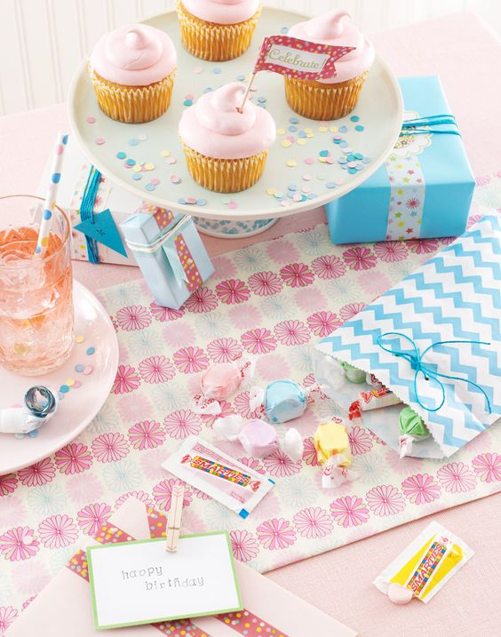 Pink Birthday Party Kat Teutsch photographer Karin Olsen-prop stylist Janine Kalesis-food stylist