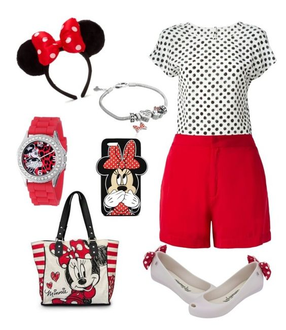 """Oh mickey ur soo fine"" by ruvic ❤ liked on Polyvore featuring Dolce&Gabbana, Disney, Giuliana Romanno, Melissa and Forever 21"